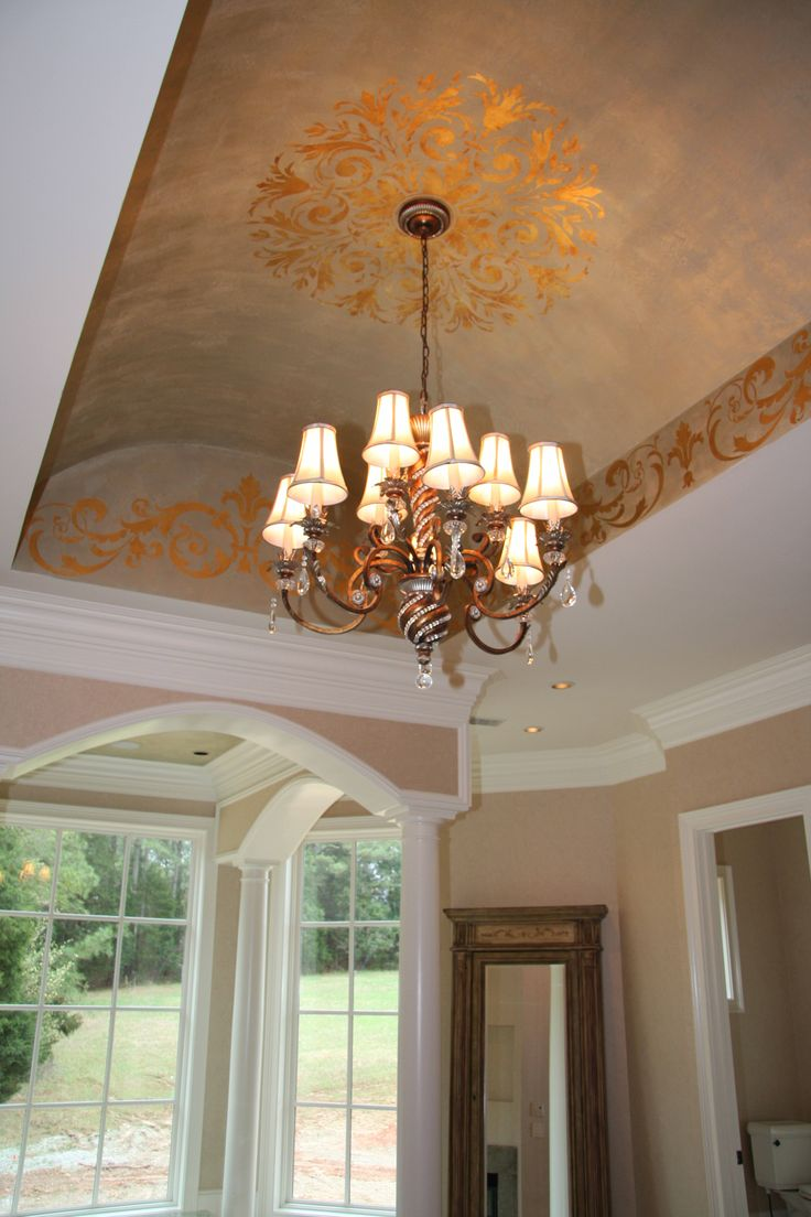 Barrel Ceiling Metallic Plasters Amp Gold Leafed Modello S