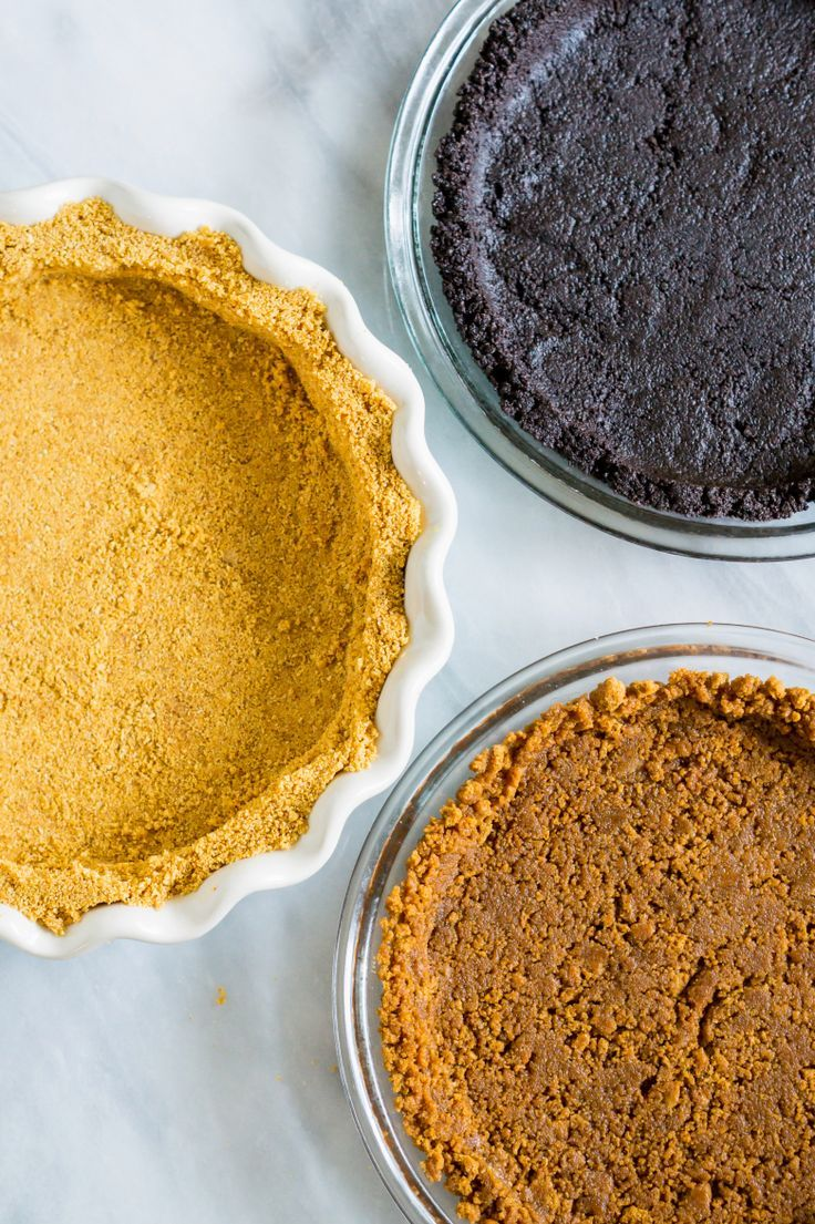 How to Make a Crumb Crust for pies and cheesecakes