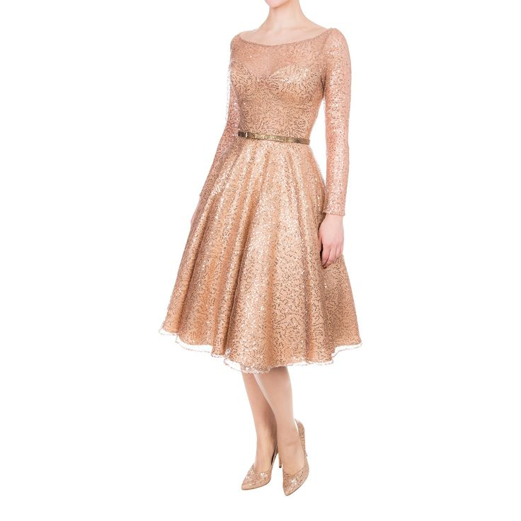 Starlet Dress dazzle nude - Outlet - Online Shop - Lena Hoschek Online Shop