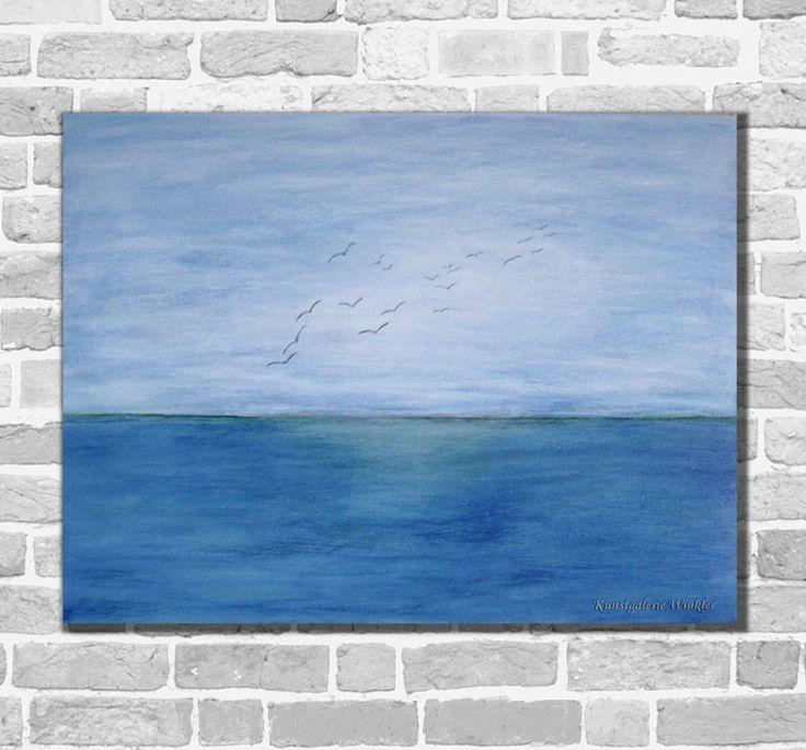 Kunstgalerie Winkler Acrylbilder Abstrakt Malerei Maritim Bilder Neu Unikat Meer