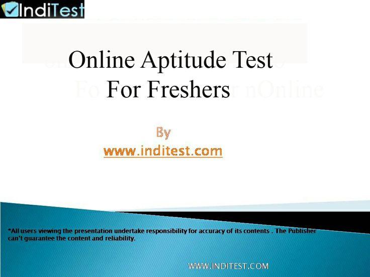 http://www.inditest.com/onlinetest-aptitude-test.html