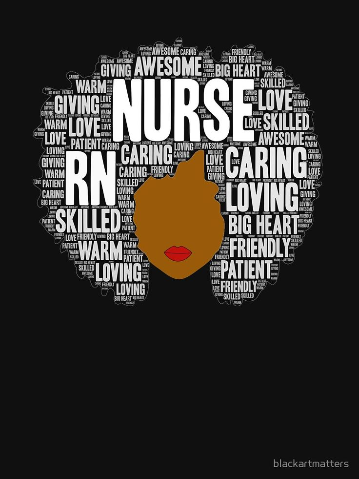 Afro Art Gift For Black Nurse Rn Lpn Relaxed Fit T Shirt