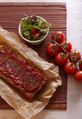 No-meatloaf met linzen en noten · EVA maakt het plantaardig