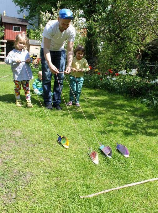 Schneckenrennen macht Spaß, und das nicht nur beim Spielen - hier zeigen wir, wie man die Schnecken dazu selber bastelt!