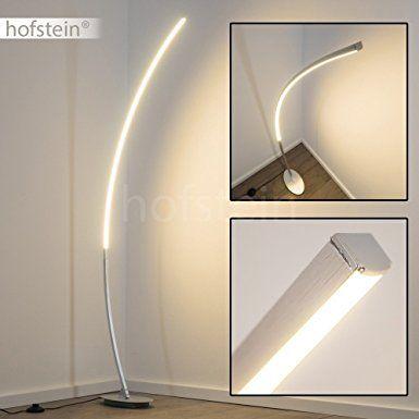 Lampada da terra LED - Lampada a Stelo Design Moderno Minimale - Lampada da Terra Con Interruttore A Pedale - Ideale per Soggiorno Zona Living Ufficio Sala da Pranzo