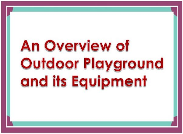 It has seen many times that Kids love to stick with their gadgets and they do not want to come out from their gadgets zone. So, it is very important to bring your kids to some playground where they can enjoy playing some outdoor activities and can make some new friends. You can also create the small play area at home. But you must consider various important things while installing the playground equipment.  #commercialplayground #playarea #playground
