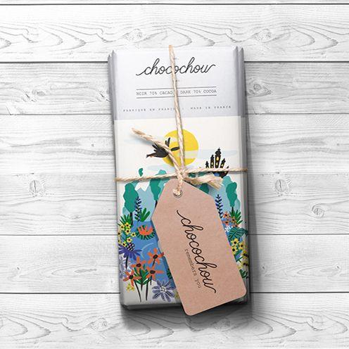 Fairytale Chocolate Bars / Chocochou on Behance