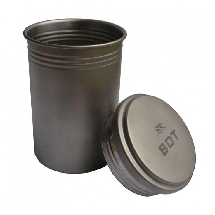 Titanium BOT Bottle Pot with lid
