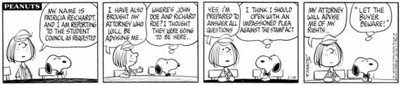 In the Peanuts comic strip, Peppermint Patty's real name is Patricia Reichardt.