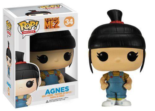 Funko POP Movies Despicable Me: Agnes Vinyl Figure http://popvinyl.net #funko #funkopop #popvinyls