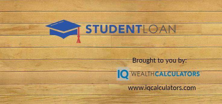 Student Loan Calculator from IQ Wealth Calculators