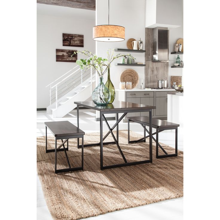 Signature Design By Ashley Joring 3 Piece Dining Set
