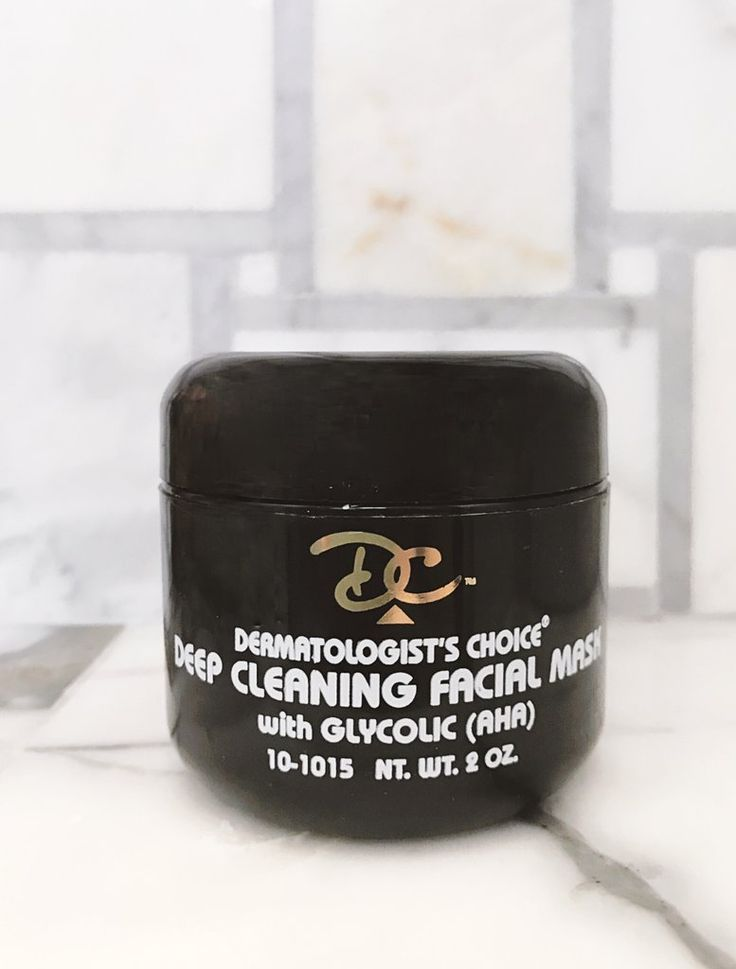Deep Cleaning Facial Mask with Glycolic