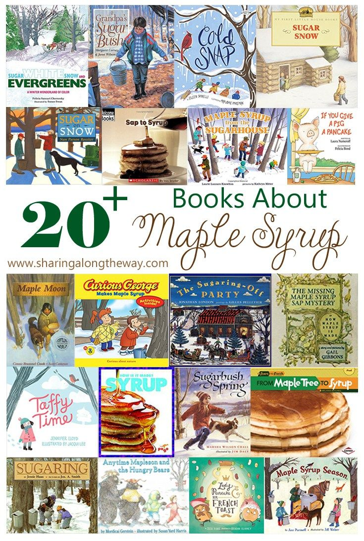 Books about maple syrup maple sugaring activities maple