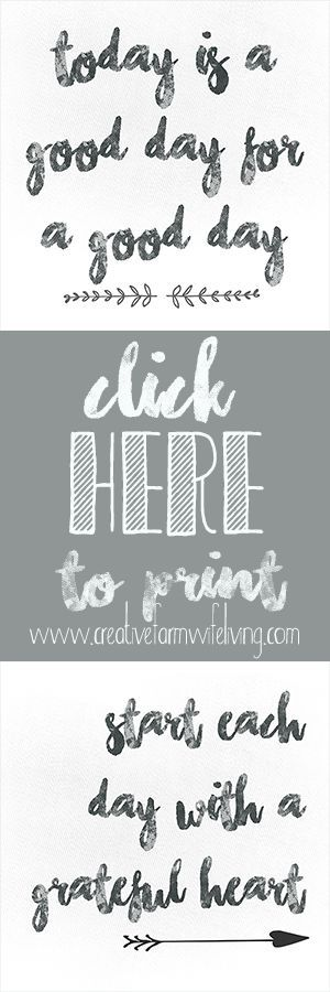 Farmhouse style printables Want agreat way to add some Farmhouse decor into your home without spending a fortune? Here are a few FREE printables! They are easy to print (I recommend on cardstock). Find your favorite style of frame or clipboard as shown below and ta-da, a great addition to any decor. The following FREE ... [Read more...]