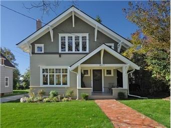 2 Tone House Colors Architectural Designs