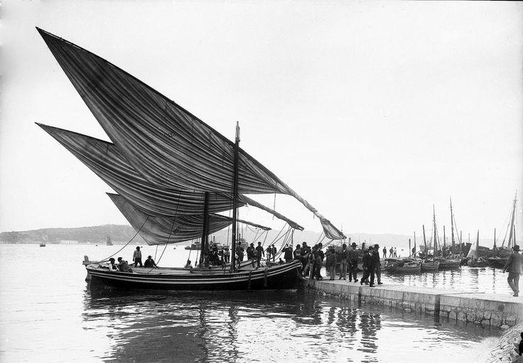 """Antes dos """"Cacilheiros"""", 1899"""