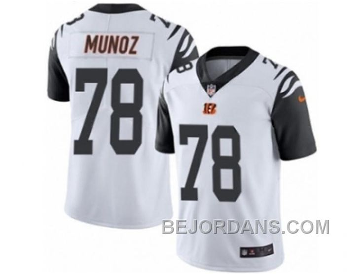http://www.bejordans.com/free-shipping-60-off-mens-nike-cincinnati-bengals-78-anthony-munoz-limited-white-rush-nfl-jersey.html FREE SHIPPING ! 60% OFF! MEN'S NIKE CINCINNATI BENGALS #78 ANTHONY MUNOZ LIMITED WHITE RUSH NFL JERSEY Only $20.00 , Free Shipping!