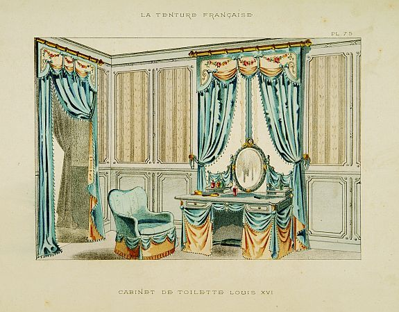 for 18th century window treatments