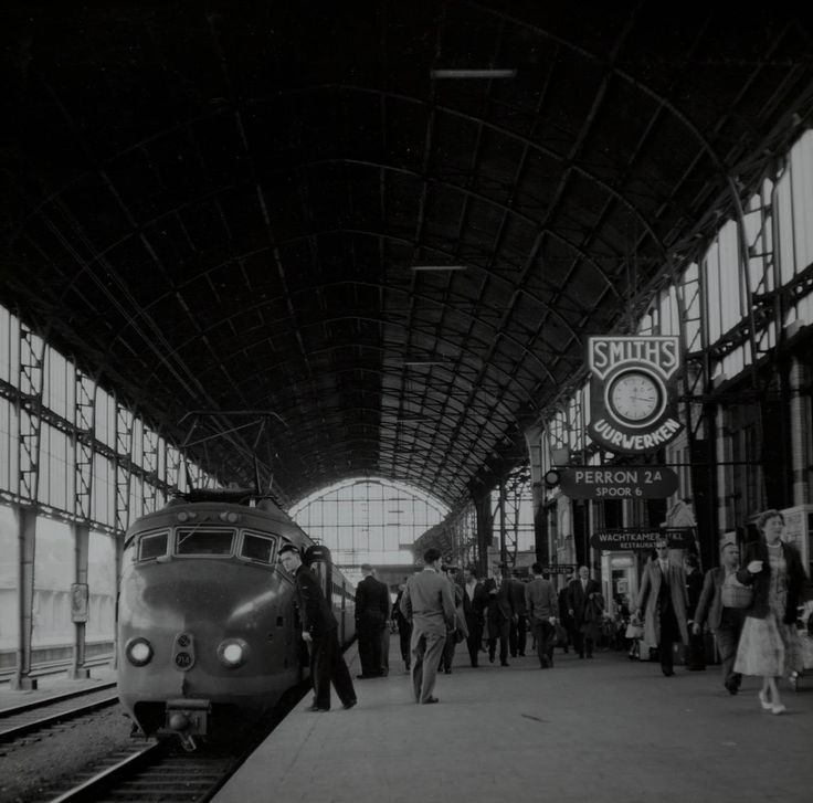 Station, jaren 50
