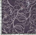 Shell Rummel Soft Repose Fabric: Steel magnolia, Clover (per 1/4 metre)
