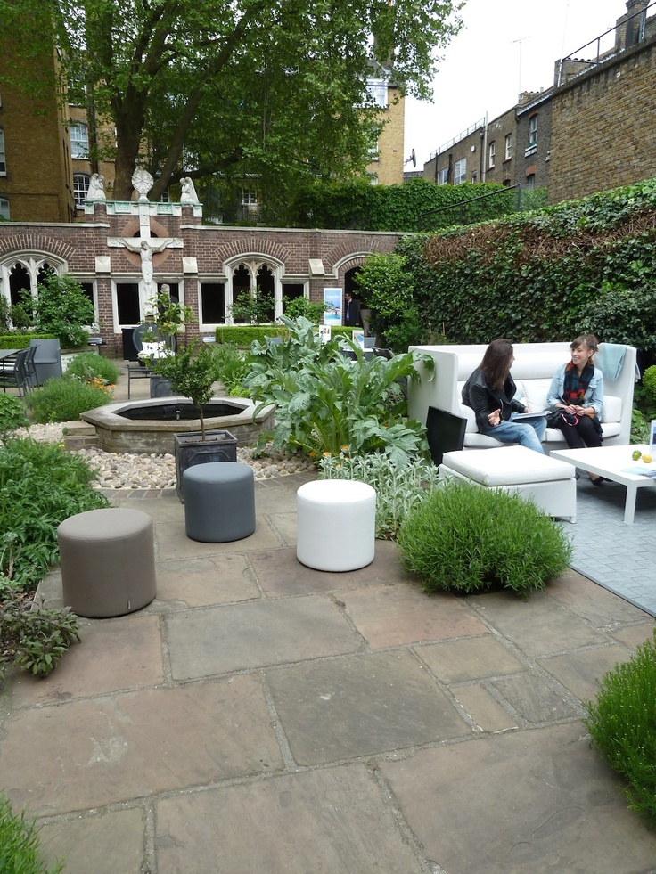 Caneline Outdoor Furniture took our favourite space at Clerkenwell 2013 with a fantastic new collection.