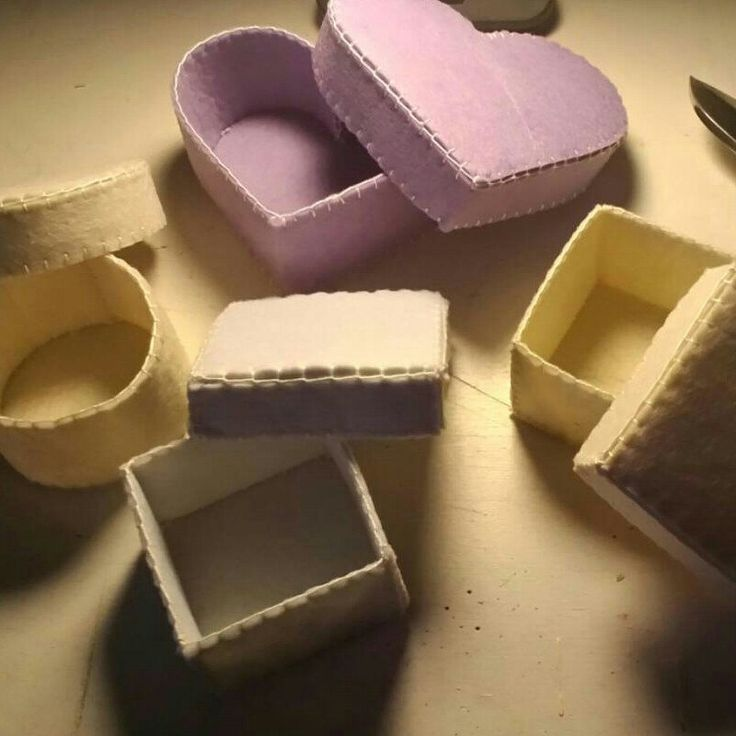 Coming soon...new colors and new decoration for my new Felt Box/Party Favors/Wedding Favors :)
