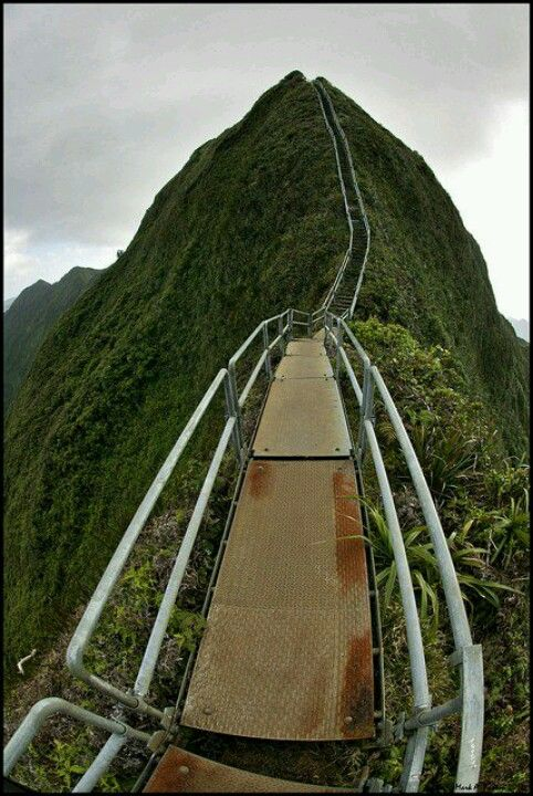 Stairway to Heaven in Hawaii..beautiful!