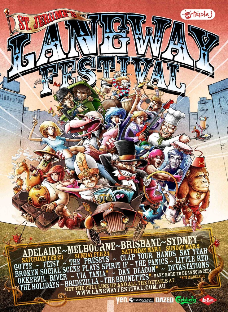 Laneway Festival - 2008