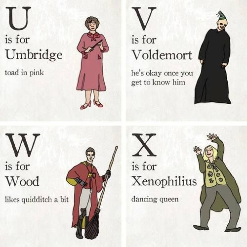 Harry Potter Alphabet - Imgur