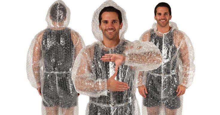 Dude, Where's My Car? Bubble Wrap Zoltan Costume...