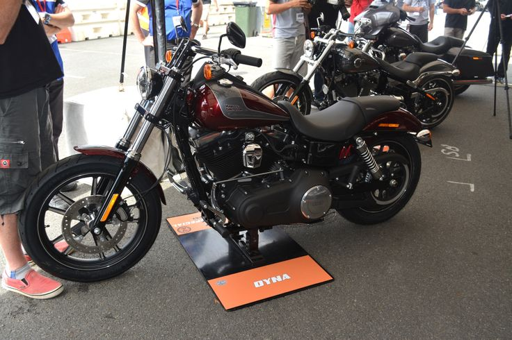 Harley-Davidson Street Bob Special  Read the story here: http://motorbikewriter.com/new-models-at-moto-expo/