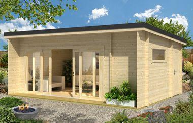Java 44 log cabin