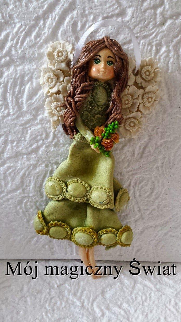 Mój magiczny Świat : Anielika w zielonej sukience