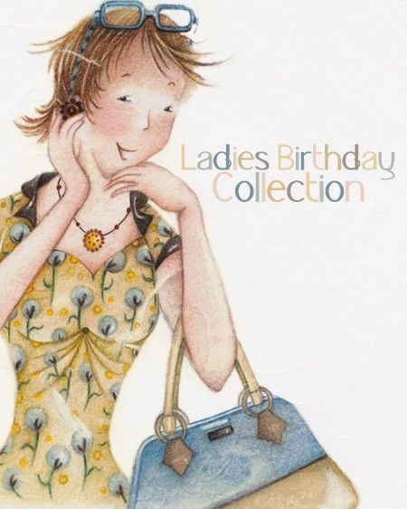 Ladies Birthday Collection - Berni Parker Designs