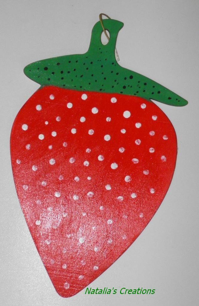 Ξύλινη φράουλα
