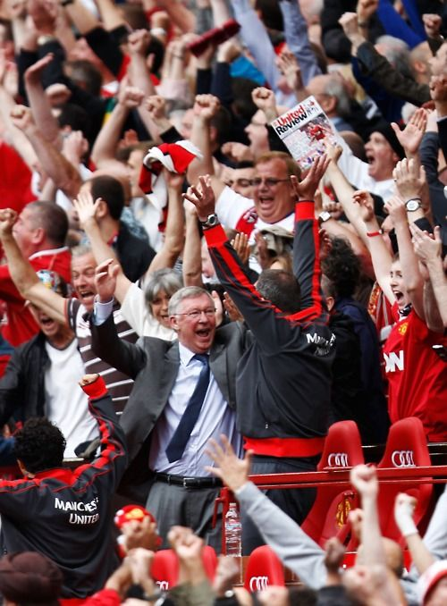 """""""I'm very proud that Old Trafford is such a special place. It's an absolutely beautiful stadium and it's always retained its magical atmosphere."""" - Sir Alex Ferguson"""
