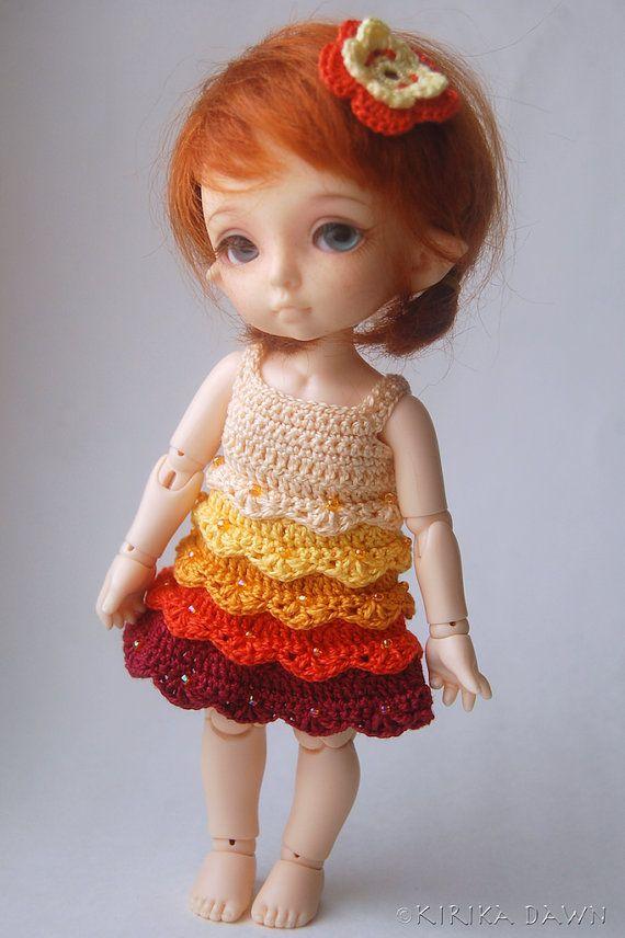 Secret Garden - Sunny Happy (Pukifee / Lati Yellow crochet dress)