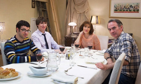 Friday Night Dinner~this show makes me laugh out loud so much :)