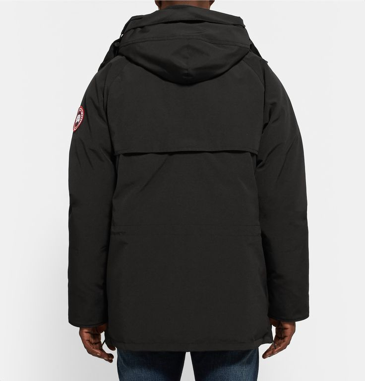 Turn to <a href='http://www.mrporter.com/mens/Designers/Canada_Goose'>Canada Goose</a>'s renowned down-filled outerwear to keep you dry and comfortable in even the most extreme environments. This hip-length parka is kitted with heavy-duty ribbed cuffs, a layered back yoke and an adjustable internal drawcord to keep drafts out. The insulated, quilted interior is the softest of its kind and is designed to cushion your body and envelop you with warmth. Side vents allow for ventilation while…
