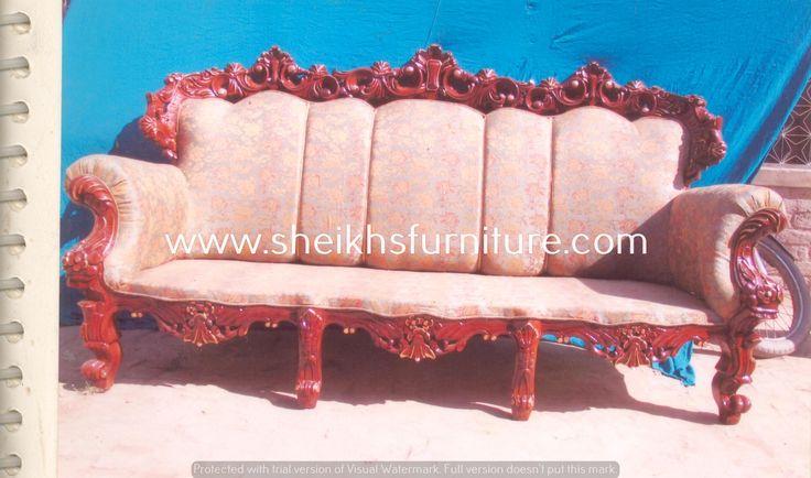 10 best creative sofa designs in pure sheesham (rosewood) in polish ...