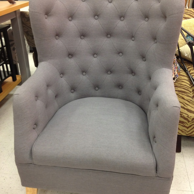 Cafer Club Chair. Home Goods $300. Soft Surroundings $600.