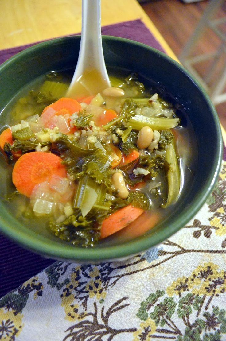 Vanishing Veggie: Arbonne Detox Day 3, Crock Pot Soup