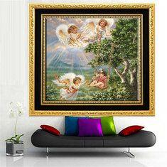 #Banggood 30x30см 5d поделки Sky Комплект вышивка крестом ангел девушки алмаз картина смолы горный хрусталь фигурка (1026560) #SuperDeals