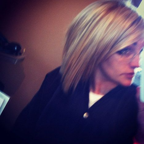 Cute Bob Haircut -- Jamie Lynn Spears