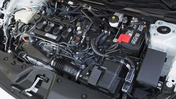 Двигатель Honda Civic 2016 / Хонда Сивик 2016