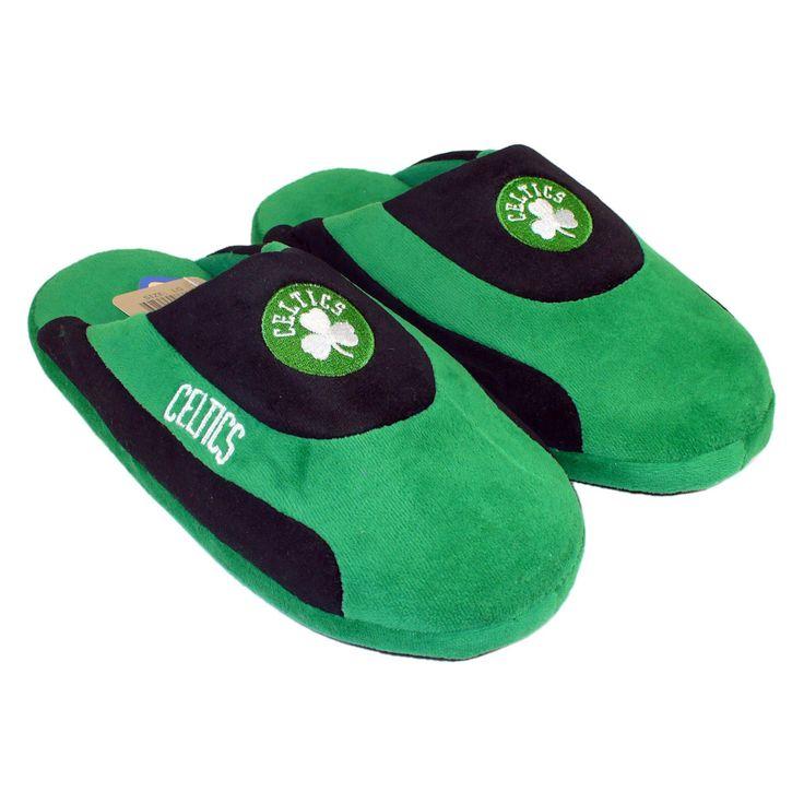 Comfy Feet NBA Low Pro Stripe Slippers - Boston Celtics - BCE07LG