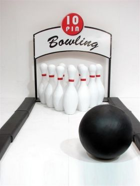 Event Prop Hire: Ten Pin Bowling Alley