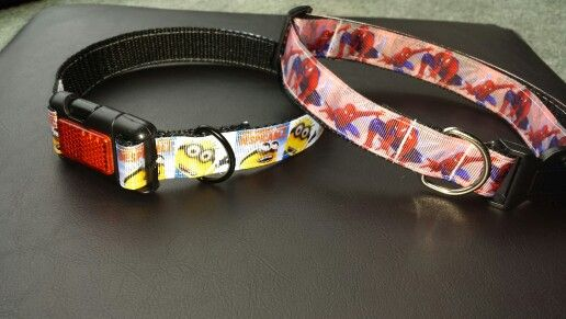 DIY adjustable dog collars! Easy to do and fun. Your dog will stand out from the rest