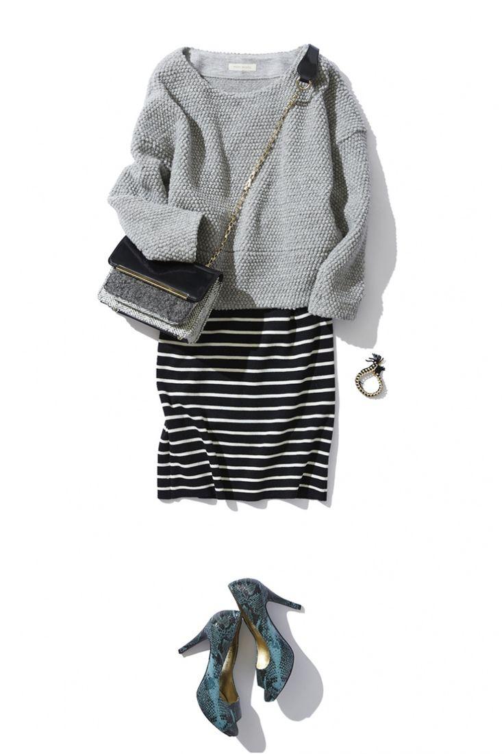 sweater pencil skirt